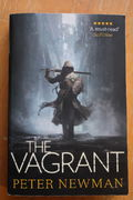 Peter Newman: The Vagrant Paperback (käytetty)