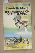 The Destruction of the Temple, Barry N. Malzberg (käytetty pokkari)