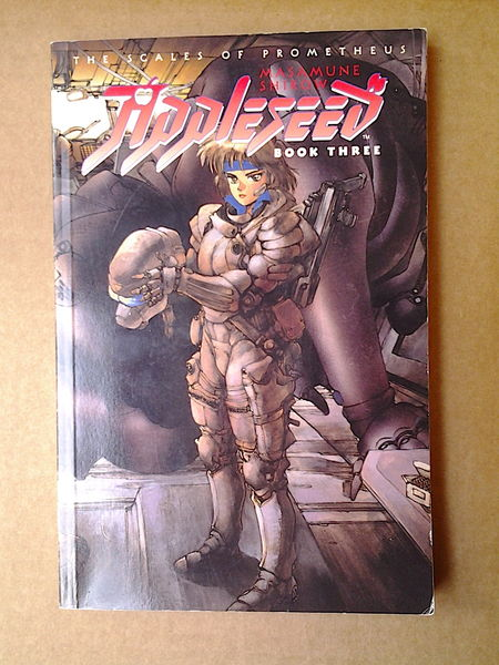 Appleseed: The Scales of Prometheus - Book Three - Masamune Shirow (käytetty)