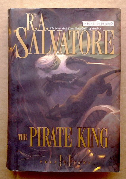 The Pirate King - Transitions II - R. A. Salvatore (käytetty)
