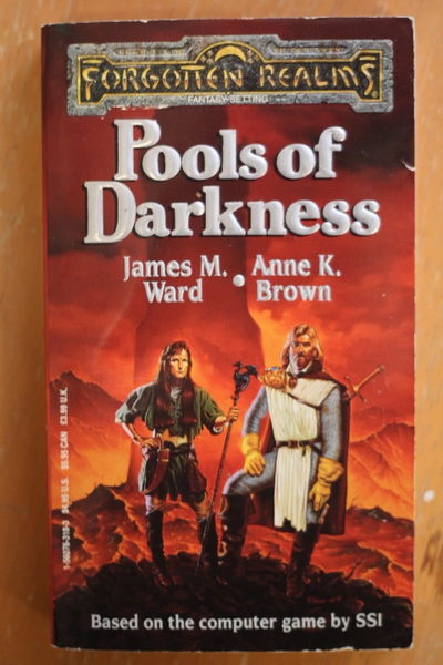 James M. Ward: Pools of Darkness (Forgotten Realms) (käytetty)