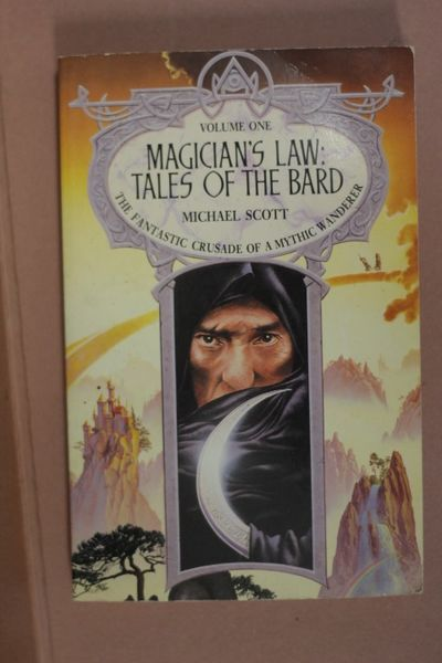 Magician's Law: Tales of the Bard, Vol 1, Michael Scott (käytetty)