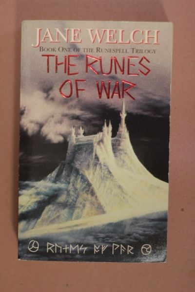 The Runes of War , Jane Welch (käytetty pokkari)