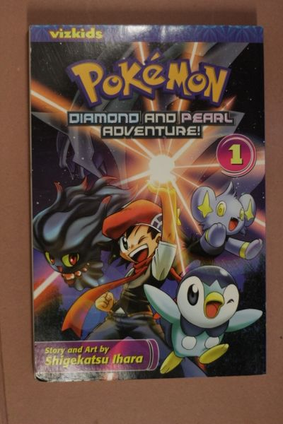 Pokémon: Diamond and Pearl Adventure!, Vol. 1 (Pokemon) (käytetty)