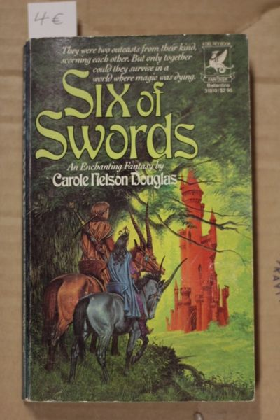 Six of Swords, Carole Nelson Douglas (käytetty pokkari)