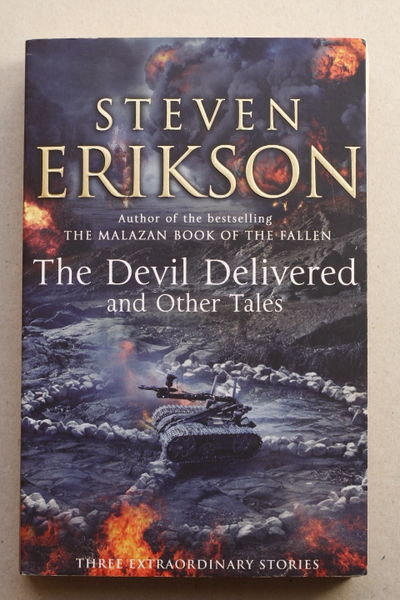 The Devil Delivered and Other Tales - Steven Erikson (käytetty)