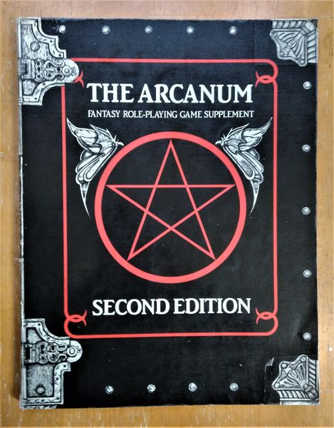 Arcanum, 2nd edition (Atlantean Trilogy) (käytetty)