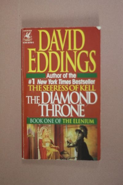 The Diamond Throne, David Eddings (käytetty pokkari)