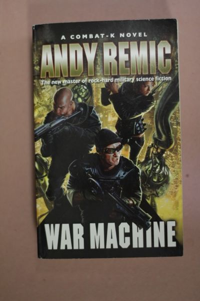 War Machine, Andy Remic (käytetty pokkari)