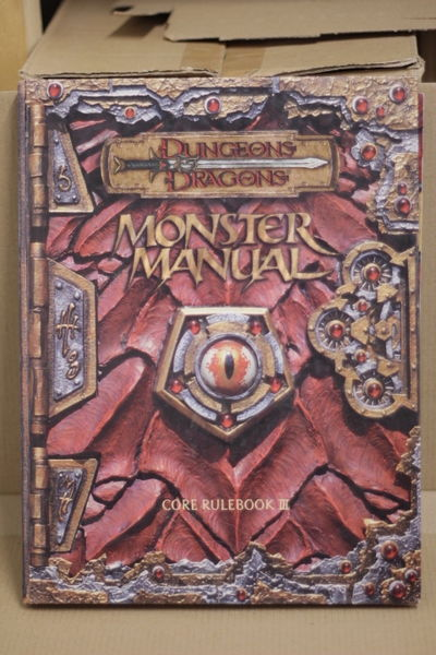 Dungeons & Dragons - Monster Manual - Core Rulebook III (käytetty)